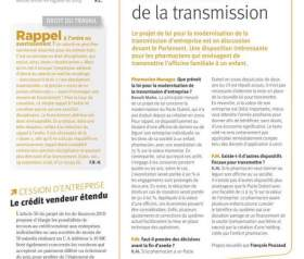Modernisation de la transmission